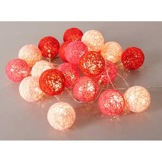 guirlande bubble corep rose et rouge 2