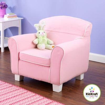 fauteuil club enfant rose lili pouce boutique d co. Black Bedroom Furniture Sets. Home Design Ideas