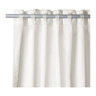 rideau gris motif bulles et toiles jaunes blanches et. Black Bedroom Furniture Sets. Home Design Ideas