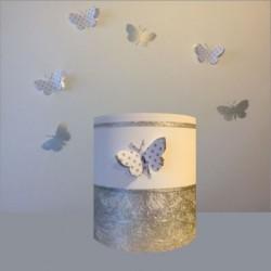 abat_jour_ou_suspension_papillon_3d_blanc_et_argent_2