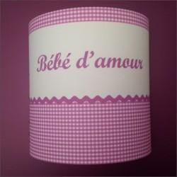 applique_bébé_d-amour_vichy_rose_personnalisable_1