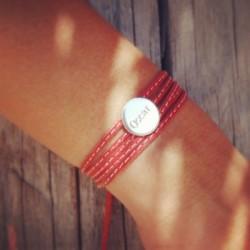 bracelet_amazone_médaille_-_plaqué_or-5