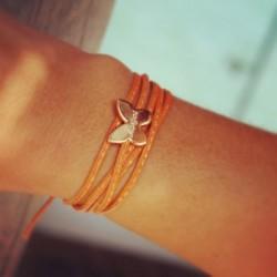 bracelet_amazone_papillon_-_plaqué_or-1