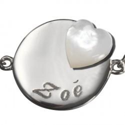 bracelet_lovely_médaille_coeur-_argent_1