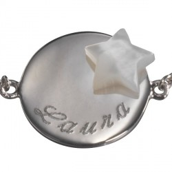 bracelet_lovely_médaille_star-_argent_1
