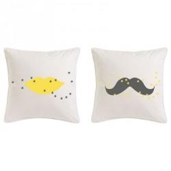 coussin_moustache_gris_étoiles_jaunes_1