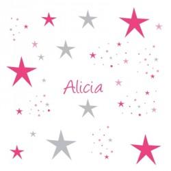 housse_de_couette_étoiles_magiques__fushia_gris-1