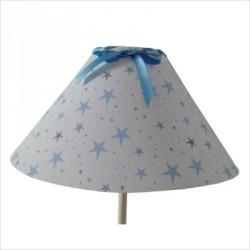 lampe_à_poser_étoiles_magiques_bleu_ciel_conique-3