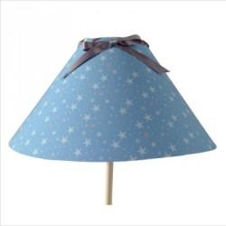 lampe_à_poser_étoiles_magiques_fond_bleu_ciel_conique-3