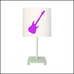 lampe_à_poser_guitare_pailletée_personnalisable-11