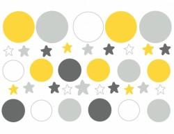 stickers_frise_bulles_et_étoiles_jaunes-_grises_et_blanches-1