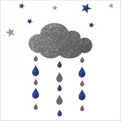 stickers_nuages__gouttes_et_etoiles_argent_et_bleu-1