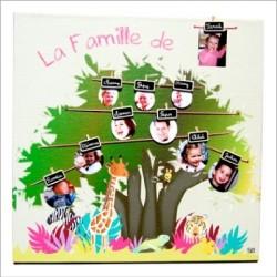 tableau_arbre_généalogique_jungle_fille-3