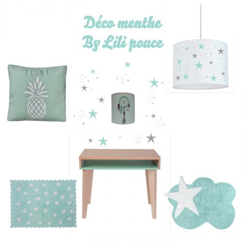 ambiance deco menthe