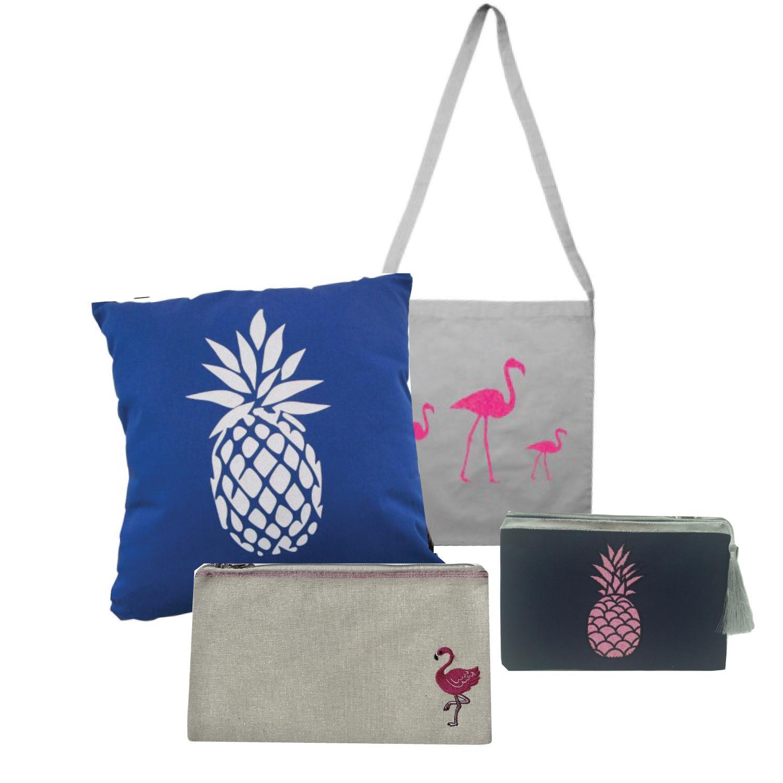 Avec les ananas, flamants roses, cactus, offrez des cadeaux