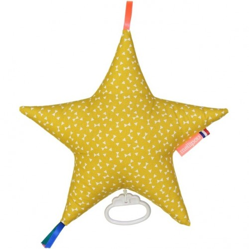 Boite à musique étoile NELLY moutarde