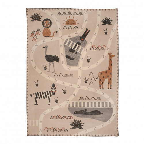 Tapis enfant coton savane Little Savanah de Nattiot
