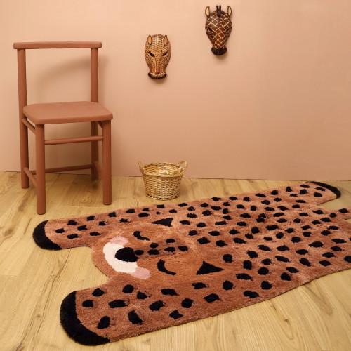Tapis bébé coton lavable Little Cheetah de Nattiot