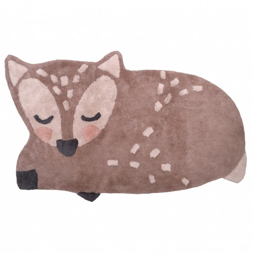 Tapis bébé coton lavable Little Deer de Nattiot