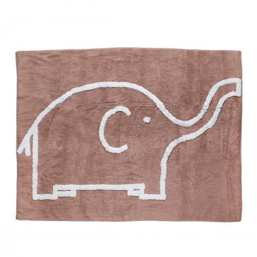 Tapis éléphant taupe