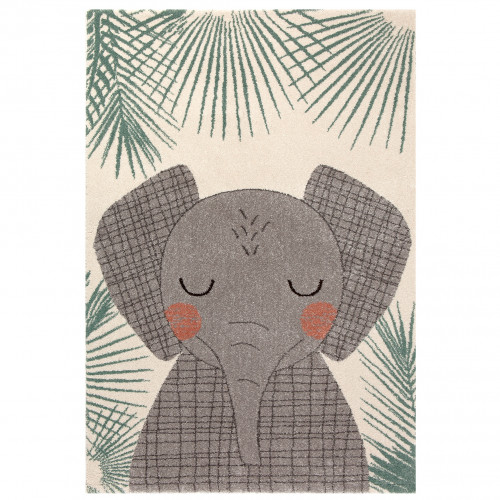 Tapis bébé éléphant JUNKO de Nattiot