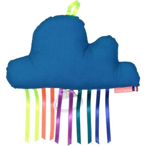 Boîte à musique nuage LUKE bleue