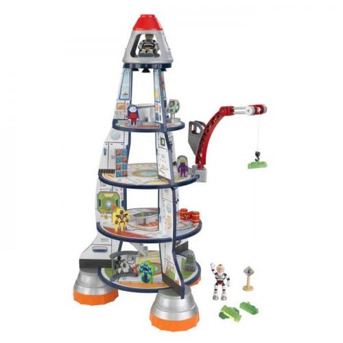 Ensemble de jeu fusée géante à trois niveaux