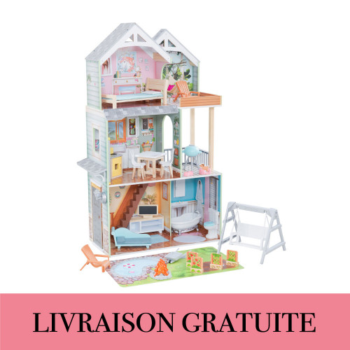 Maison de poupée Hallie - Kidkraft
