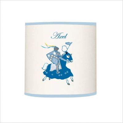 Abat jour ou suspension chevalier bleue