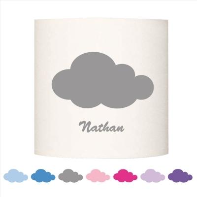 Abat jour ou Suspension nuage Nathan personnalisable