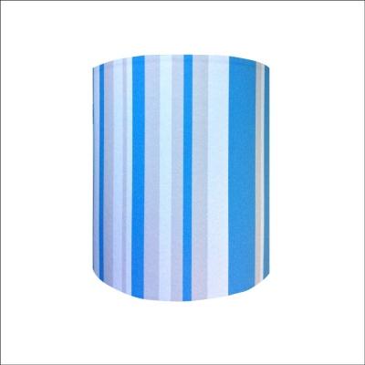 Abat jour ou Suspension rayures bleues personnalisable