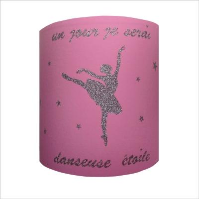 Abat jour Suspension un jour je serai danseuse etoile personnalisable