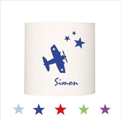 Applique avion star personnalisable