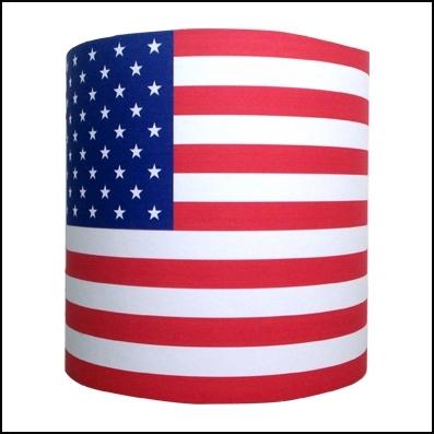 Applique drapeau americain personnalisable