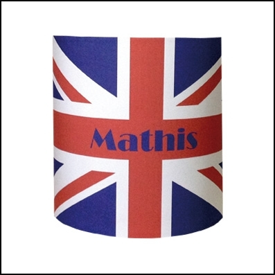 Applique drapeau anglais personnalisable