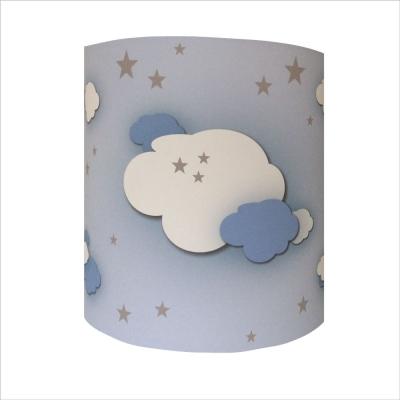 Applique nuages dans ciel étoilé