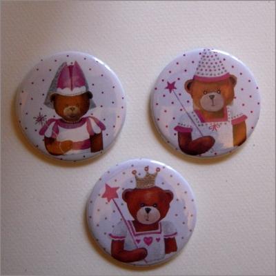 Badges 3 ours filles 2
