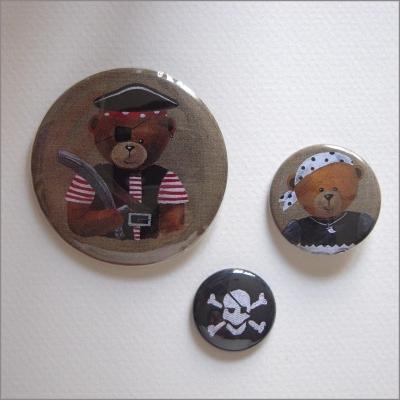 Badges assortis  ours garçon 2