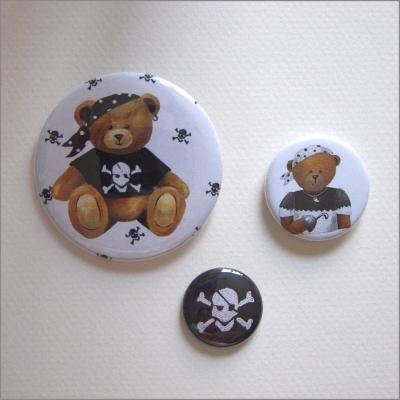 Badges assortis  ours garçon 3