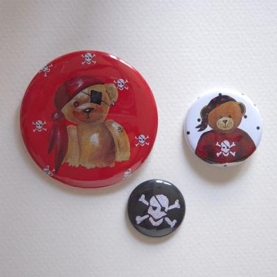 Badges assortis  ours garçon 4