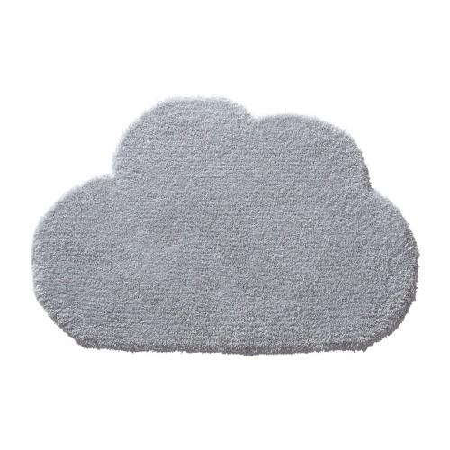 Tapis nuage Wunderwolke gris en laine