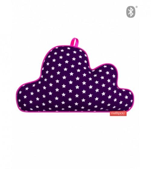 Boîte à musique connectée nuage IT-BAM violette