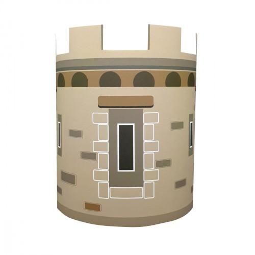 Abat jour ou Suspension la tour du chateau personnalisable