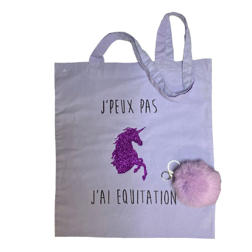 Coffret cadeau Equitation Harmonie mauve