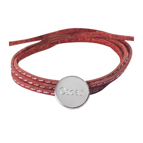 Bracelet Amazone Médaille - Argent