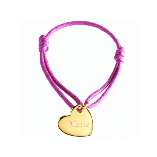 Bracelet Kids Coeur- plaqué or