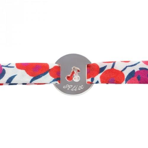 Bracelet Liberty Cerise - argent