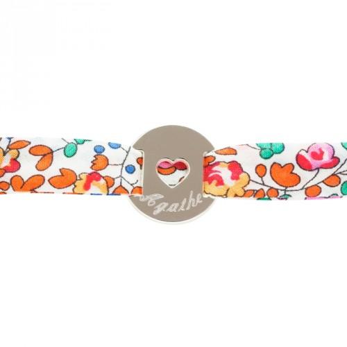 Bracelet Liberty Coeur - argent