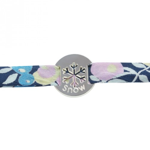 Bracelet Liberty Flocon - Argent