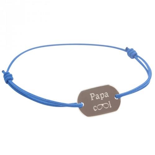 Bracelet Papa Cool - Argent